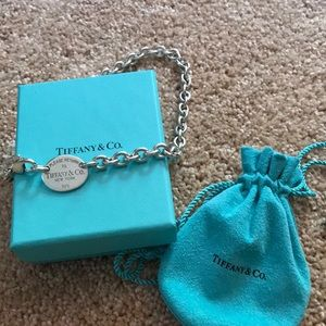 Return to Tiffany's Sterling necklace